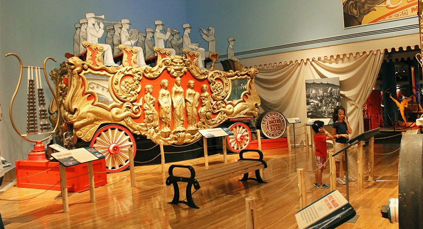 chariot piece at Ringling museum of art