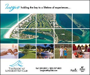Advertisement: Imagine having the key to a lifetime of experiences. Call (941) 383-8821 or (800) 237-8821