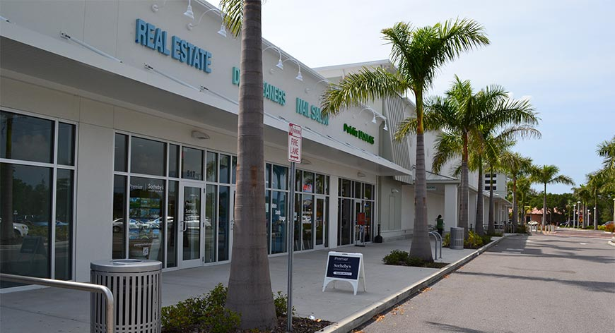 Shoppes of Bay Isles  - Real estate dry cleaning nail spa