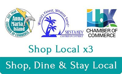 Shop Local x3. Shop Dine and Stay Local